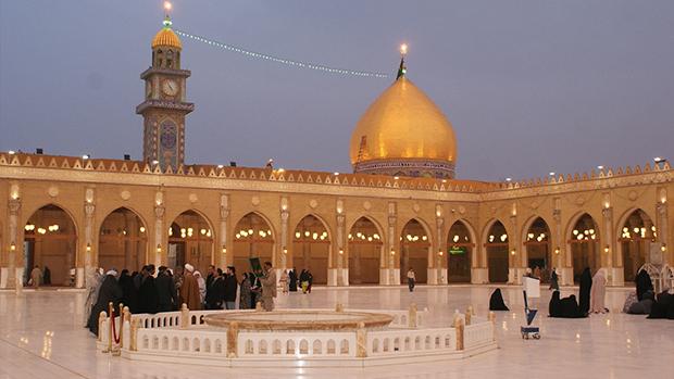 تصویر گراميداشت سالروز انتخاب شهر کوفه به عنوان پایتخت از سوي اميرالمومنين علیه السلام