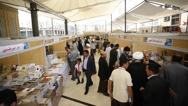 تصویر افتتاح نمایشگاه بینالمللی کتاب نجف اشرف