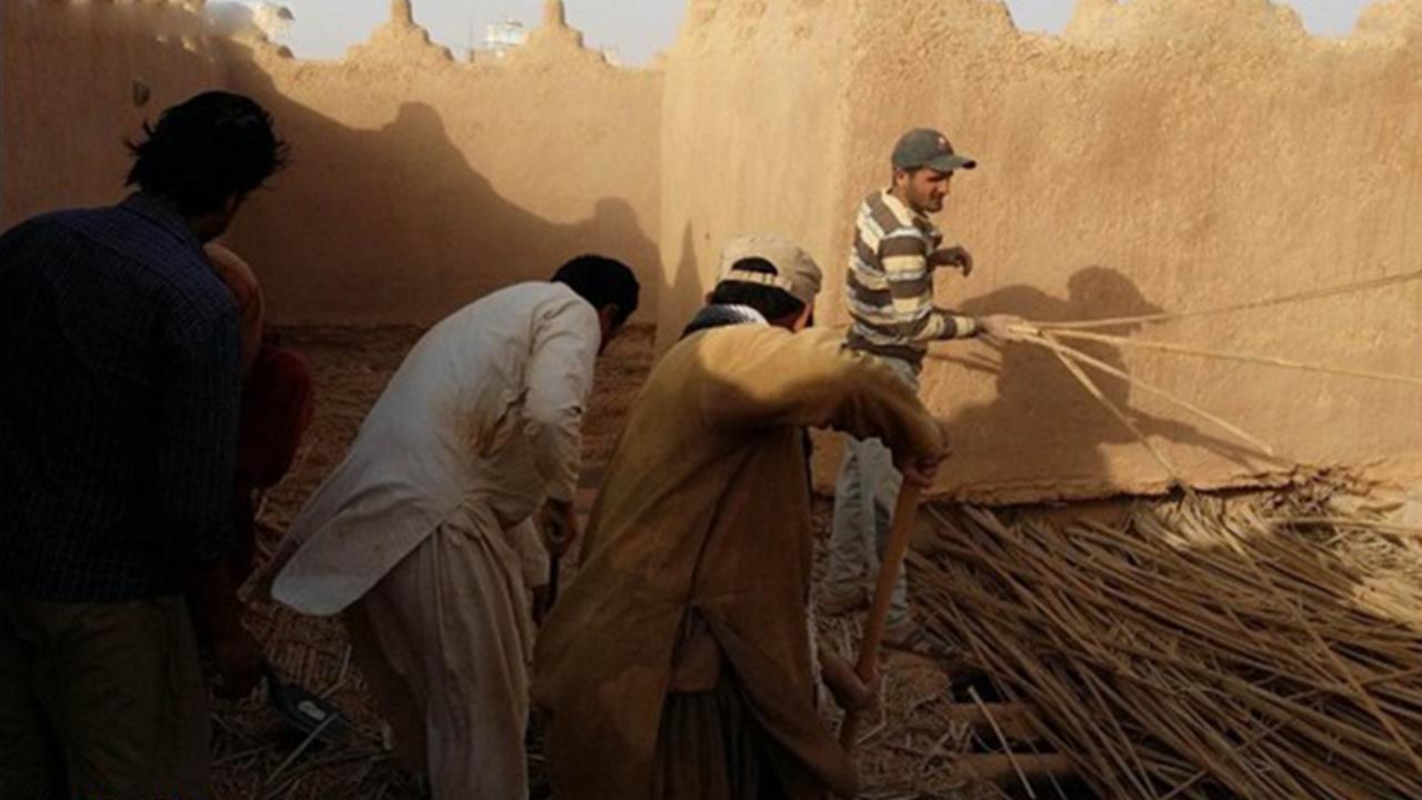 تصویر باز سازی قصر شاه سعودی توسط تخریب کنندگان منزل پیامبر اکرم