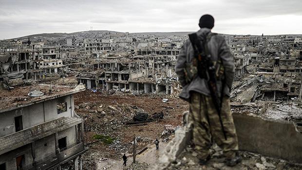 تصویر محاصره دو شهر شيعه ديگر در سوريه توسط تروريست ها
