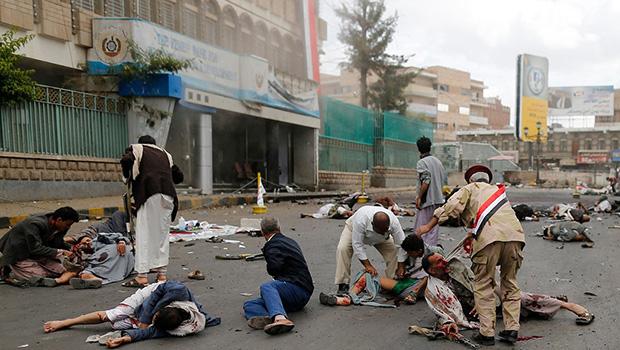تصویر بازگشت رئیس جمهور مستعفی یمن با پادشاه سعودي به عربستان