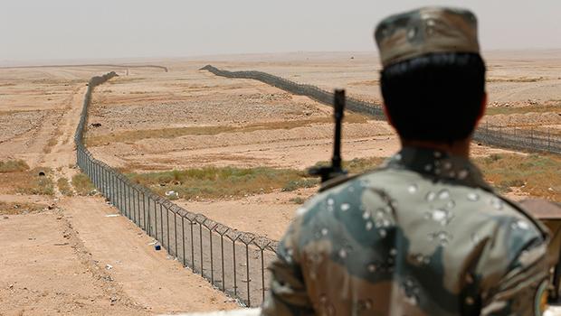 تصویر درگیری شدید در مرزهای عربستان