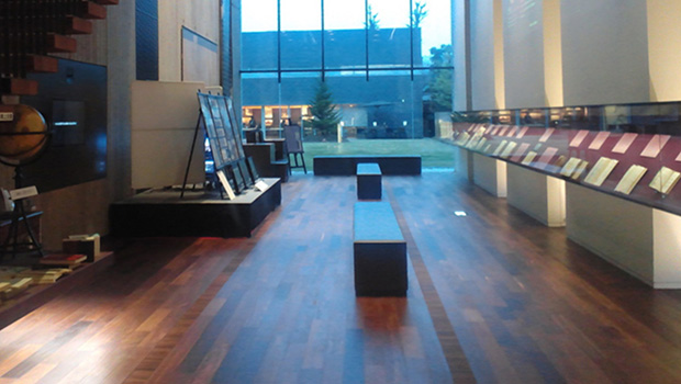 تصویر برگزاری نمایشگاه قرآنهای خطی در موزه توکیو