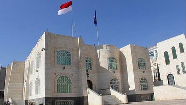 تصویر انفجار بمب در سفارت اندونزی در یمن