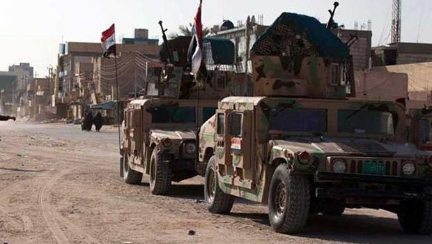 تصویر هلاکت ۵۶ تروریست داعش در عملیات ارتش عراق در شرق فلوجه