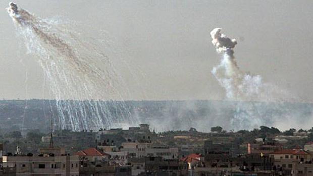 تصویر استفاده عربستان و متحدانش از بمبهای خوشه ای در حملات به یمن