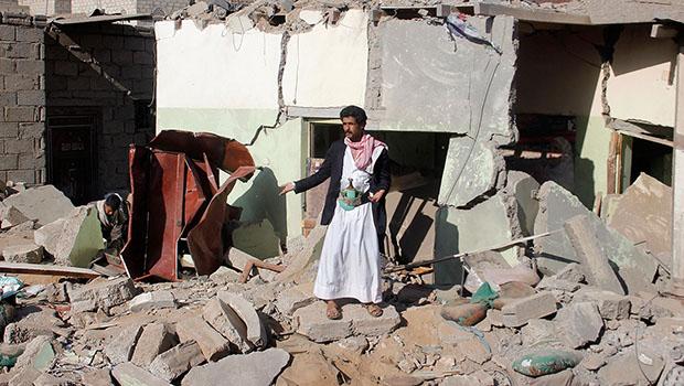 تصویر گزارش سازمان ملل از افزایش قربانیان حملات رژیم سعودی به یمن