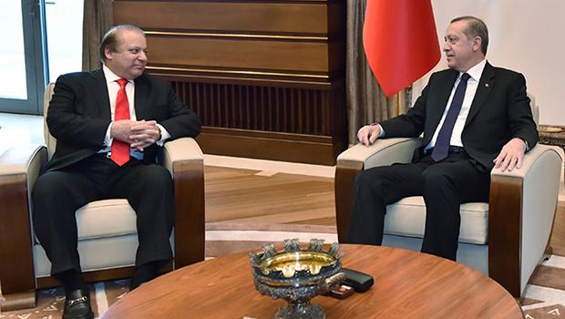 تصویر حمایت سران پاکستان و ترکیه، از حملات سعودی به یمن