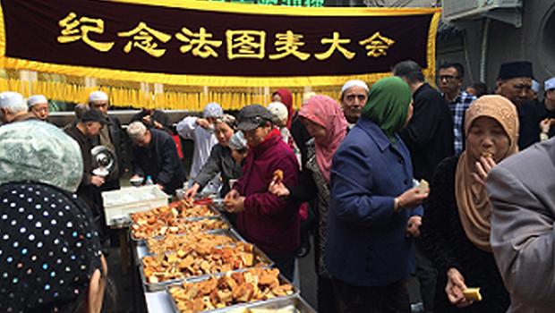 تصویر روز حضرت فاطمه سلام الله علیها در مساجد کهن شهر پکن