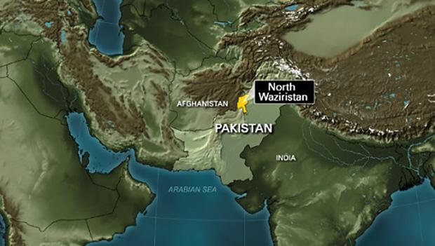 تصویر هلاكت دها تروريست طالبان در حملات هوايى ارتش پاكستان در مرز افغانستان