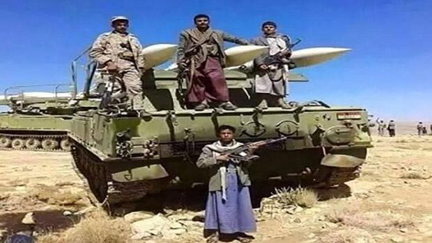 تصویر واکنش نیروهای یمنی با شلیک دهها خمپاره به نجران عربستان
