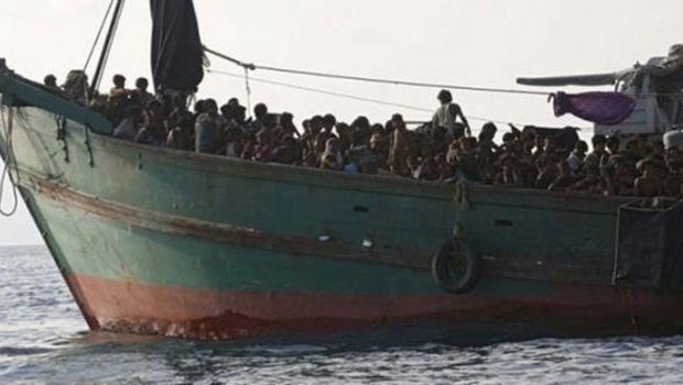 تصویر وضعيت وخيم مهاجران مسلمان روهينينگا
