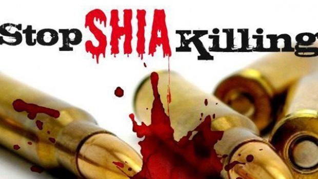 تصویر ترور یک شهروند شیعه کراچی به دست سپاه صحابه