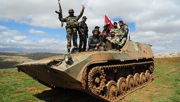تصویر موفقیت های جدید قوای سوری در مقابله با داعش