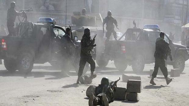 تصویر شهادت ۲۶ پلیس افغان در حملات تروریست های طالبان
