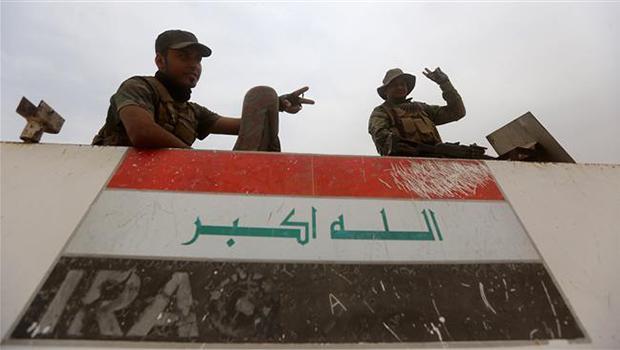 تصویر شهر رمادی در محاصره کامل نیروهای عراقی