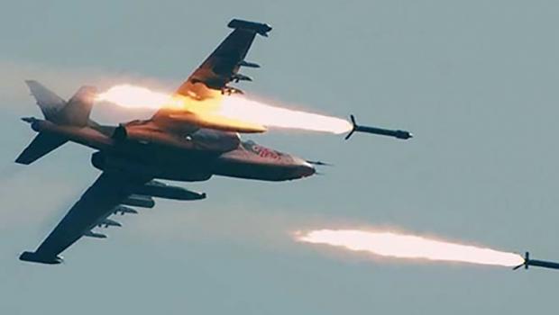 تصویر هلاکت ۳۰ تروریست داعشی در حملات هوایی عراق