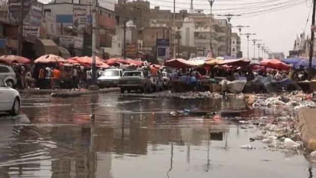 تصویر شیوع بیماری مرگبار در عدن، درشرایط محاصره