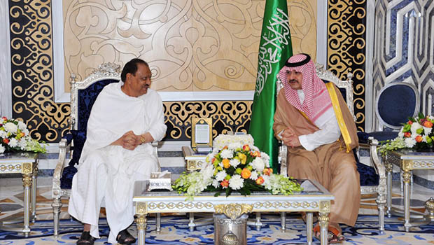 تصویر تاکید پاکستان بر مشارکت با عربستان برای مقابله با یمنی ها در مرزهای زمینی