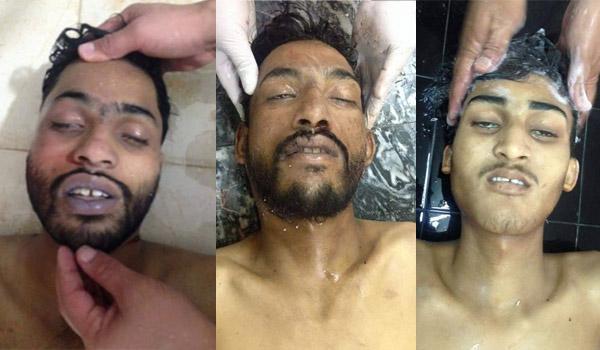 تصویر ترور هدفمند سه كارگر شيعه در پاكستان