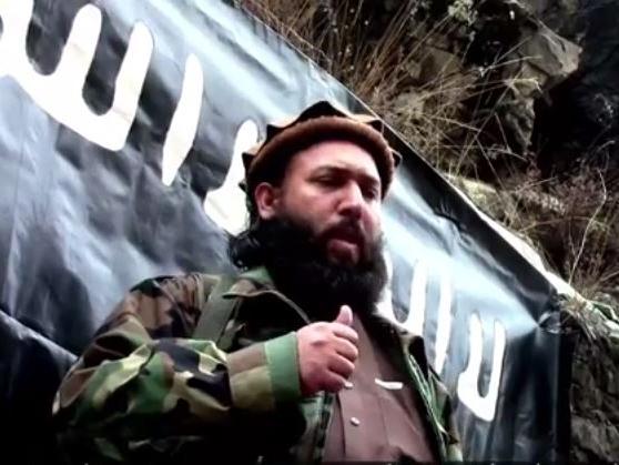 تصویر هلاکت رهبر داعش در افغانستان و پاکستان