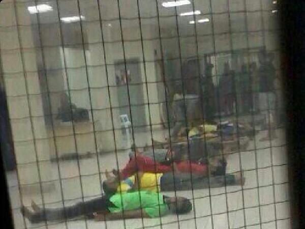 تصویر موج جديد اعتصاب بحرينى ها در زندان های آل خلیفه