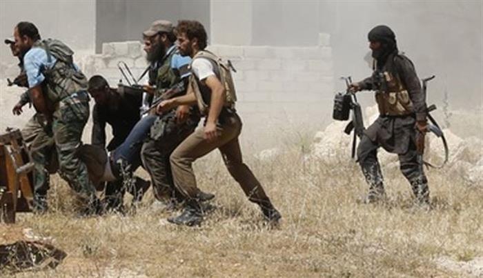 تصویر فرار فرماندهان داعش از عراق به ترکیه