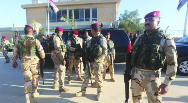 تصویر آزاد سازی کامل دانشگاه الانبار