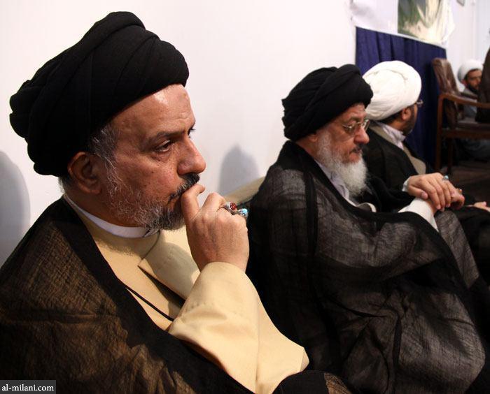 تصویر درگذشت حجت الاسلام والمسلمين سيد محمد منير ميلانى