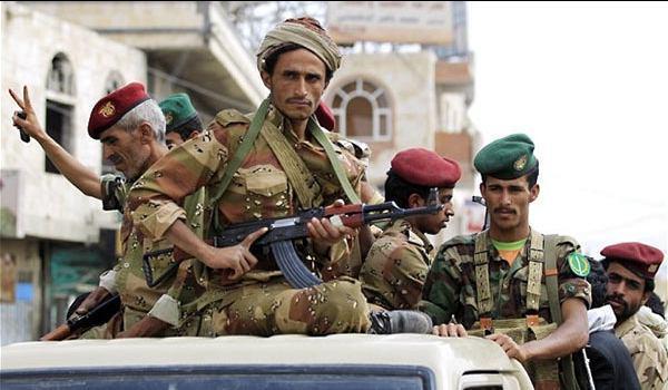 تصویر کشته شدن دهها عضو القاعده و مزدور عربستان در یمن