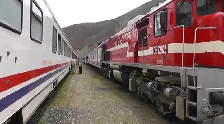تصویر حمله به قطار آنکارا – تهران در ترکیه