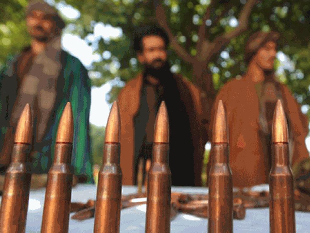 تصویر انتشار پیام صوتی رهبر جدید طالبان