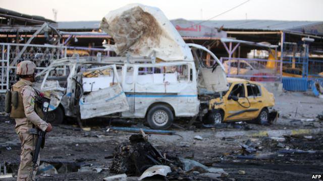 تصویر انفجار هاى تروريستى در استان ديالى عراق