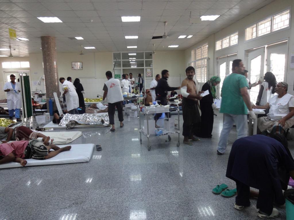 تصویر توقف خدمات پزشکی در یازده استان یمن