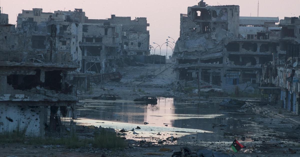 تصویر درخواست لیبی از اتحادیه عرب برای حمله به داعش