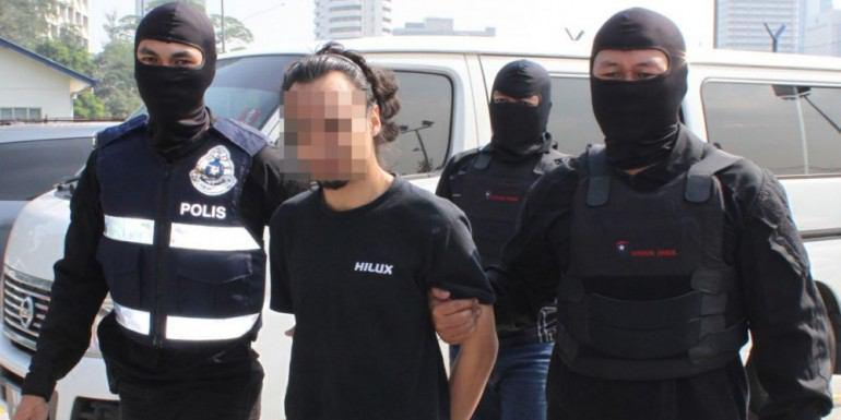 تصویر دستگیری تیم جذب نیروی داعش در مالزی