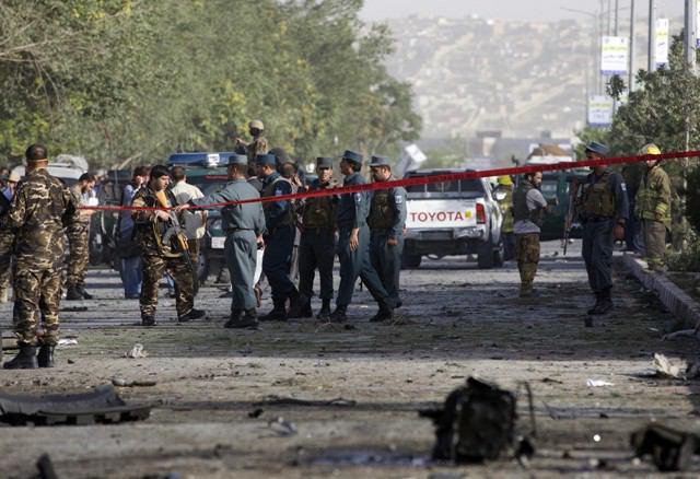 تصویر ۷۸ کشته و مجروح در انفجار کابل