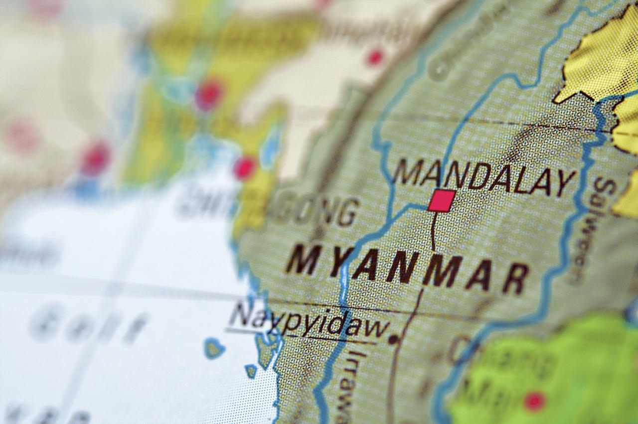 تصویر محکومیت میانمار، از سوی کشورهای عضو آ سه آن