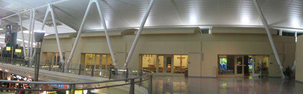تصویر مسجدی منحصربهفرد در شلوغترین فرودگاه آمریکا