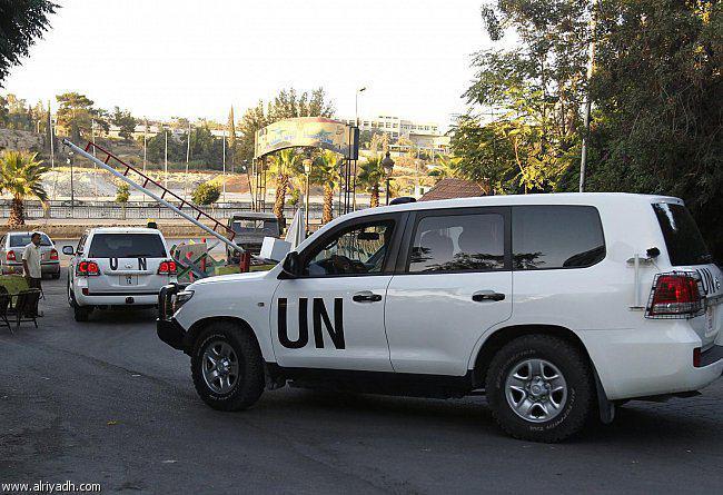 تصویر صدور رواديد سوريه براى ۴۷ بازرس سازمان ملل براى بازديد از اين كشور