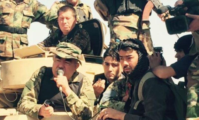 تصویر عملیات ارتش افغانستان علیه طالبان ، در ولایت بغلان