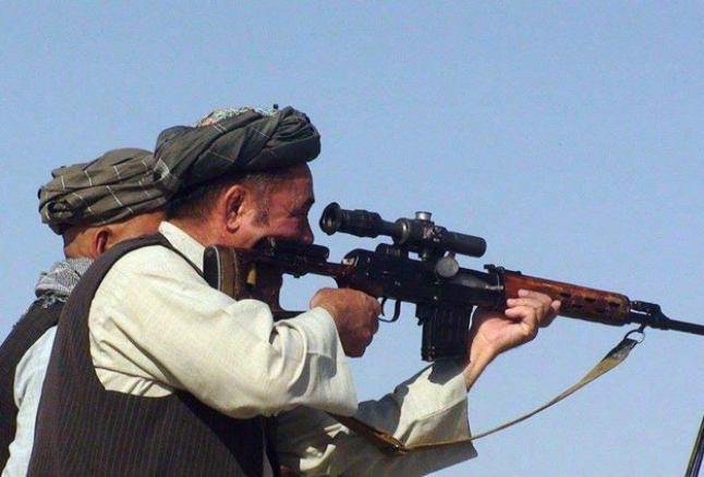 تصویر حملات خونبار طالبان به مرکز استان فارياب افغانستان