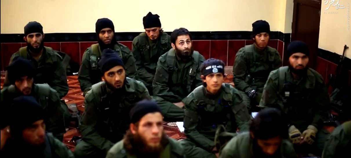 تصویر اردوگاه آموزشی تروریستهای آذربایجانی داعش