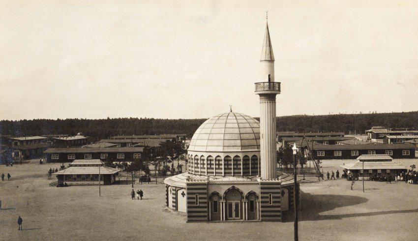 تصویر کشف بقایای مسجدی ۱۰۰ساله در آلمان