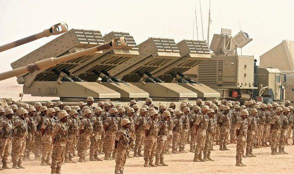 تصویر استقرار پنج هزار نظامی سعودی در مأرب، برای حمله به صنعا