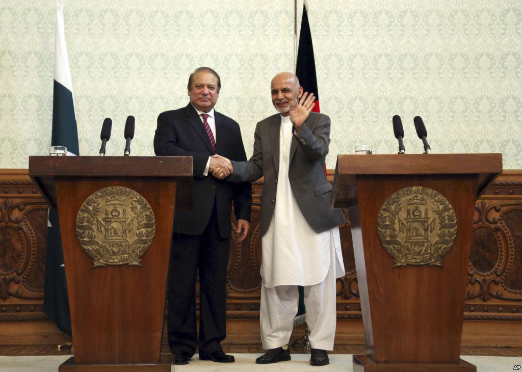 تصویر درخواست افغانستان از پاکستان به منظور برخورد با طالبان