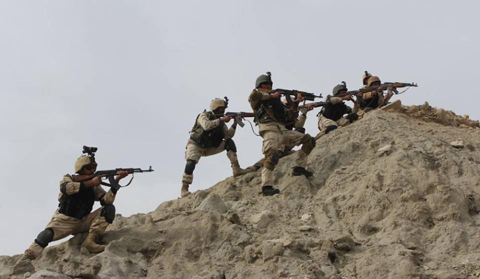 تصویر پنج فرمانده سرشناس طالبان در بدخشان کشته شدند