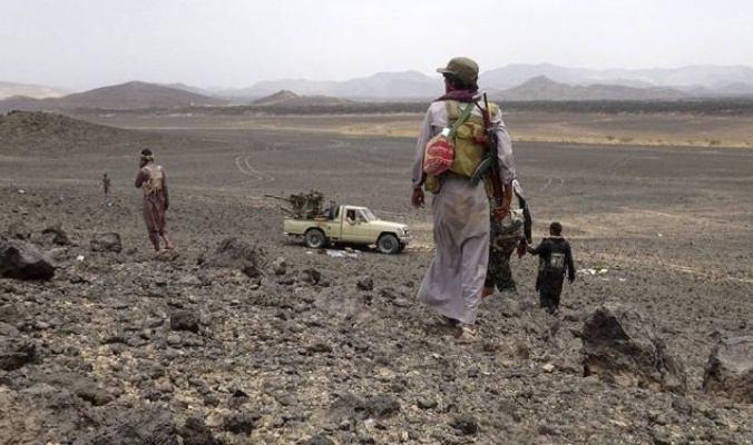 تصویر تسلط ارتش یمن بر منطقه«الربوعه» در جنوب عربستان