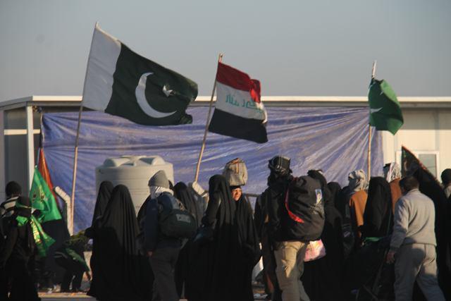 تصویر آغاز ثبتنام پاکستانیها برای پیادهروی و زیارت اربعین