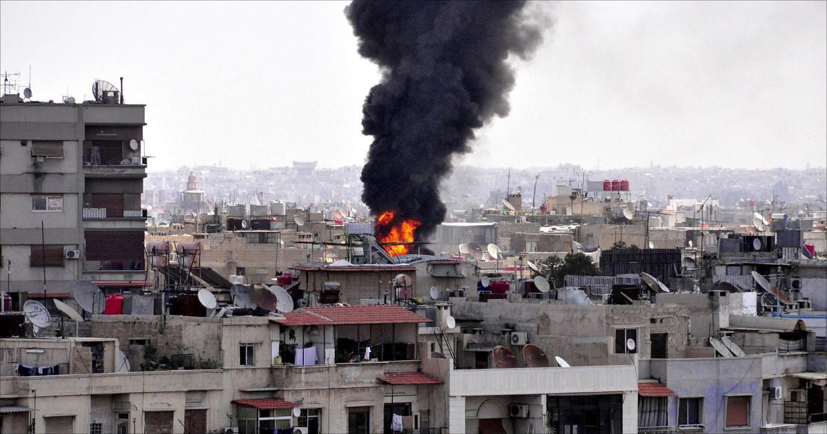 تصویر شهید و زخمی شدن ۳۹ تن، در حمله خمپارهای تروریستها به حلب